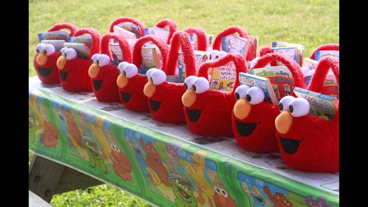 Simple Elmo birthday party decorations ideas & Simple Elmo birthday party decorations ideas - YouTube