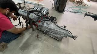 96 Chevy Impala SS LS Swap Build: Engine Install