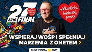 OnetRANO gra z WOŚP - 13.01.2019 - Na żywo