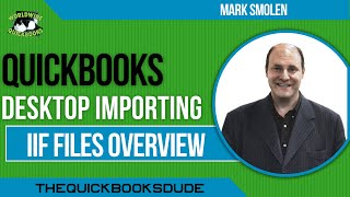 Batch Importing Transactions Into QuickBooks