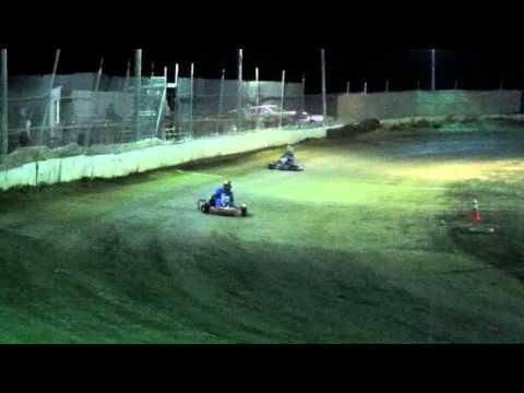 CORA Speedway 8/20/11 flat kart main