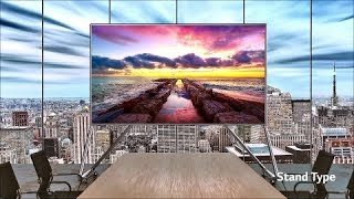 """LG 130"""" All-in-one LED Screen Introduction"""