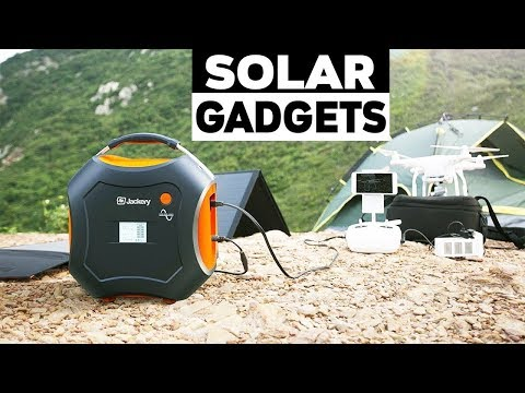 5 Portable Solar Power Generator for All Outdoor Activity. Solar Power Gadgets.