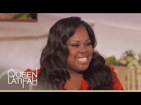 Amber Riley on The Queen Latifah Show
