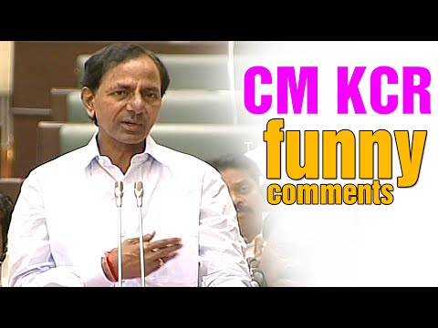 CM KCR funny explanation on construction of Nagarjuna Sagar SLPC tunnel - T Assembly Sessions