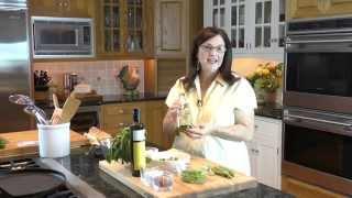 Fava Beans & Peas With Lemon Ricotta On Crostini