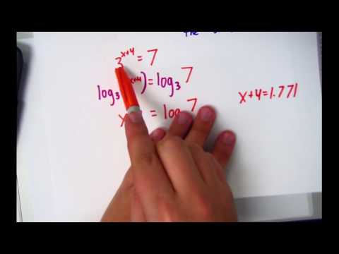 Exponential Equations - Type 2