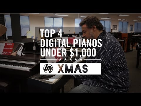 Top 4 Digital Pianos Under $1,000 For Christmas 2018   Better Music