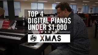 Top 4 Digital Pianos Under $1,000 For Christmas 20