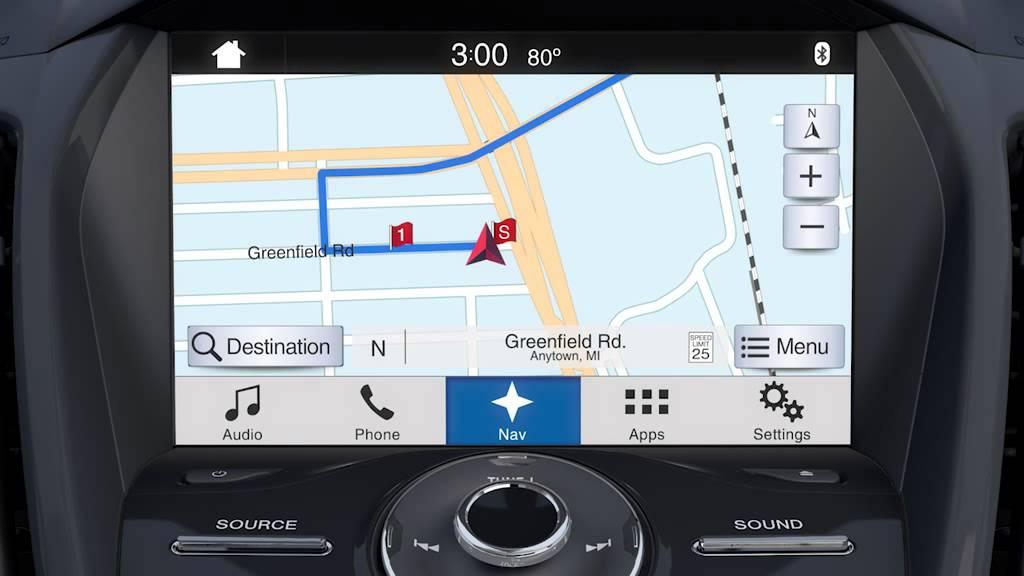 Spradley Barr Ford >> CMAX SYNC 3 Navigation - YouTube