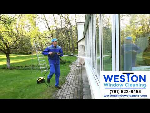 Window Cleaning in Weston, MA | Gutter Cleaning | Call Today!
