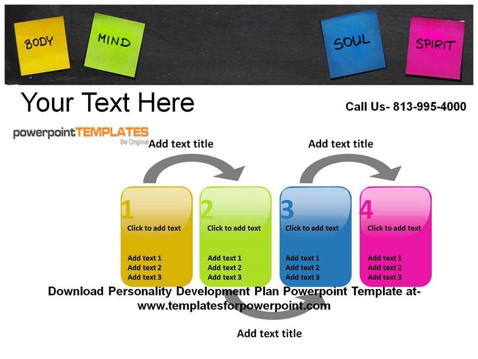 Personality Development Plan PowerPoint Templates