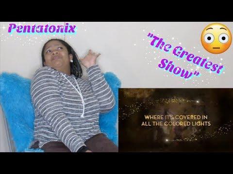 "Pentatonix-""The Greatest Show""Reaction🤯 Lyric ♥️"