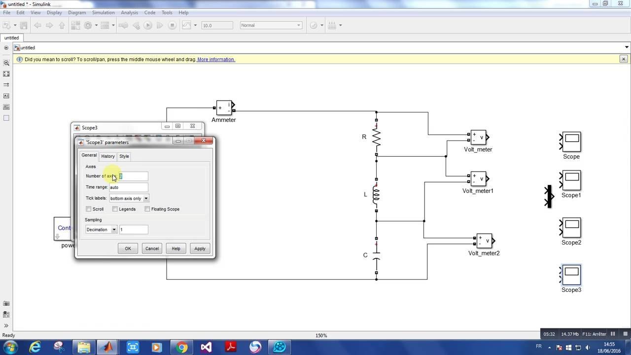 rlc circuit in simulink [ 1280 x 720 Pixel ]