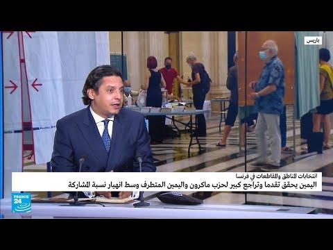 الانتخابات الإقليمية الفرنسية: تقدم اليمين وتراجع حزب ماكرون واليمين المتطرف وانهيار نسبة المشاركة  - نشر قبل 13 ساعة