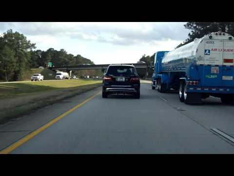 Interstate 59 - Louisiana southbound