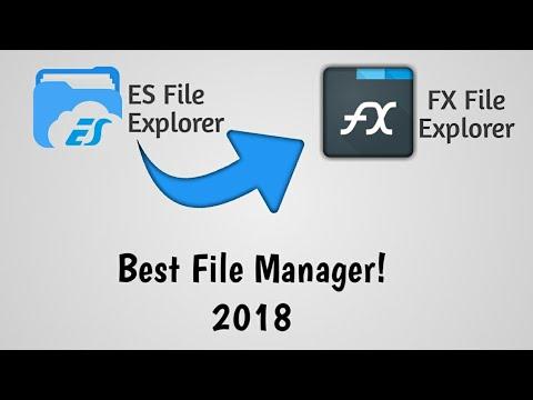 Best File Manager 2018!ES File Explorer Alternative! FX File Explorer