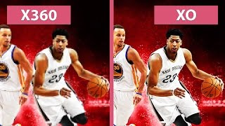 NBA 2K16 – Xbox 360 vs. Xbox One Graphics Comparison [FullHD][60fps]