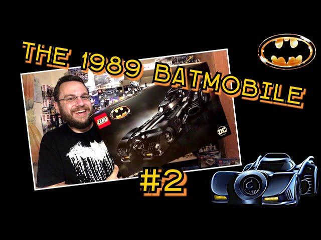 1989 Batmobile - Iconic Movie Car And Awesome Lego Set (76139) - Part 2