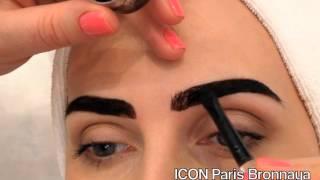 ICON Paris Bronnaya окрашивания бровей хной