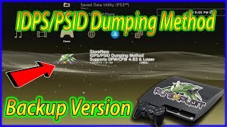 PS3 StoreHaxx 4.83 IDPS PSID Dumping Method Backup Version ( ALL CONSOLES )