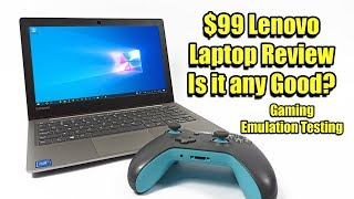 $99 Lenovo Laptop Review + Emulation And Gaming Test Lenovo 130s 11iGM