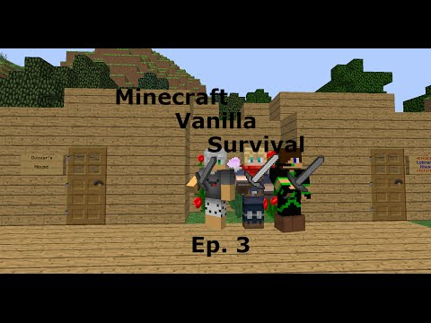 Minecraft: Youtube Survival ep. 3 RECOVERED THE LOST EPISODE!
