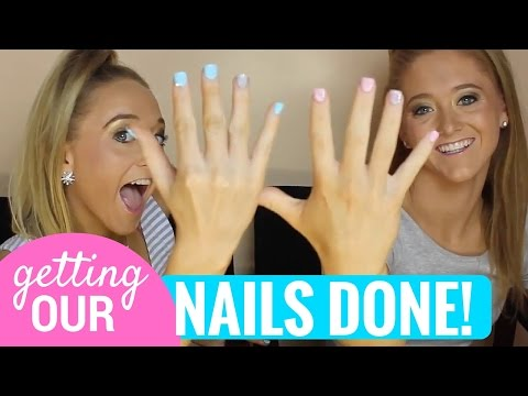 Getting Our Nails Done! | Sam and Teagan