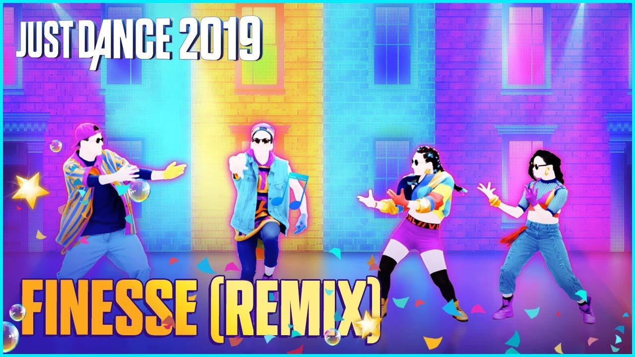 Just Dance 2019: Finesse (Remix) by Bruno Mars Ft. Cardi B | Official Track Gameplay [US]