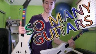 HOW TO GET GUITAR HERO GUITARS CHEAP (Xplorers & others) + Vlog