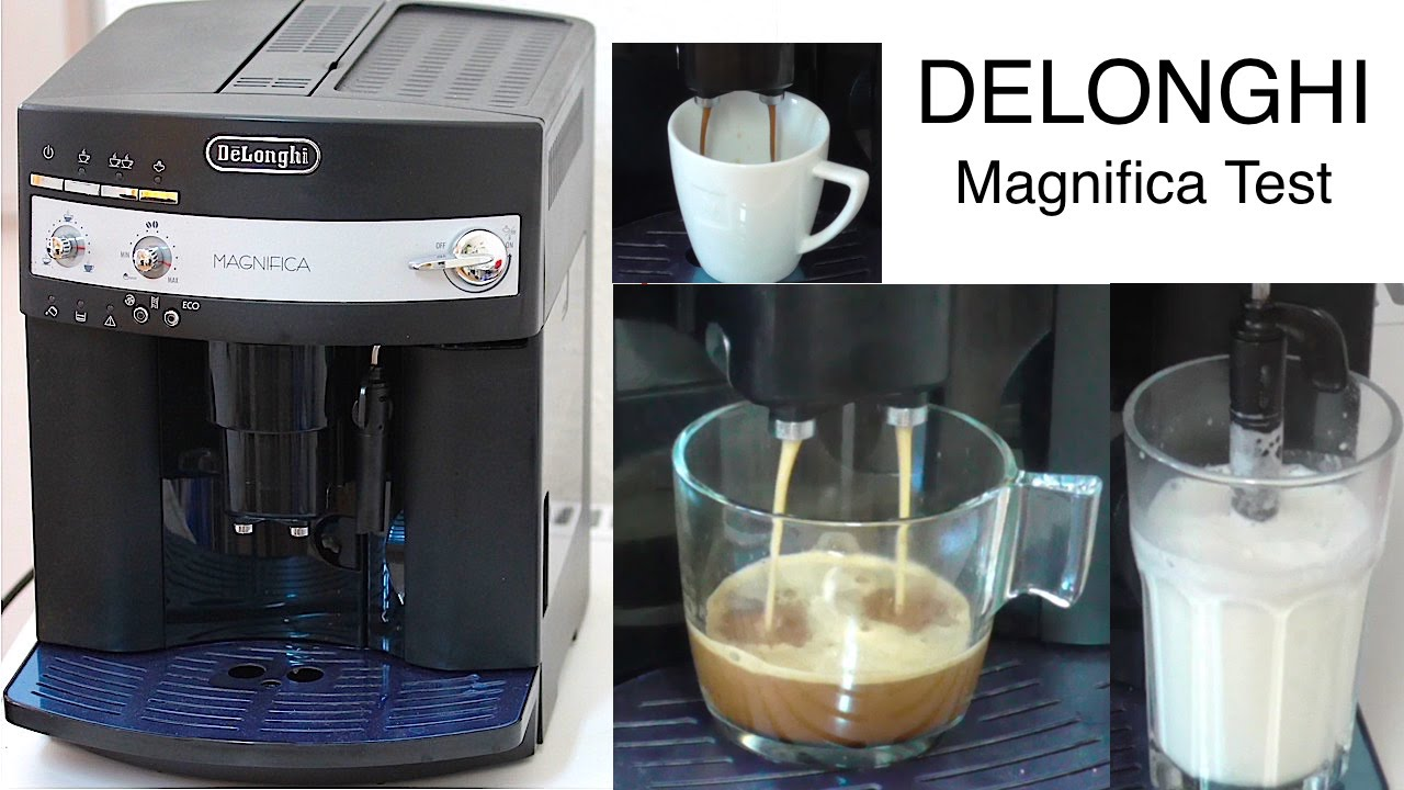 delonghi magnifica esam 3000 b test erkl rung youtube. Black Bedroom Furniture Sets. Home Design Ideas