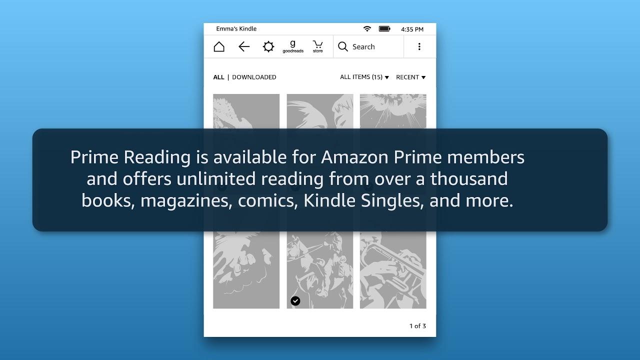 Amazon Kindle: Buy & Download Content