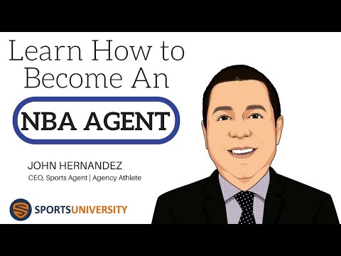 Learn How to Become an NBA Sports Agent