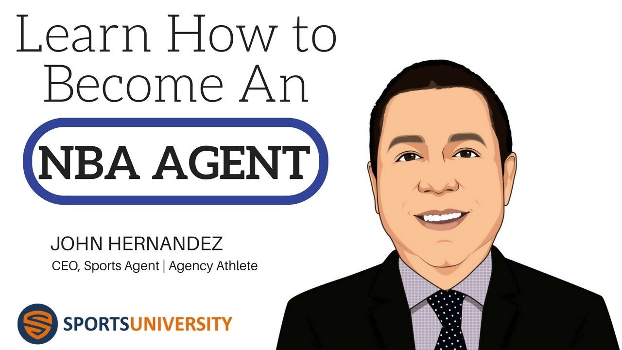 Learn How To Become An Nba Sports Agent Youtube