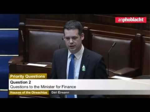 Pearse Doherty confronts