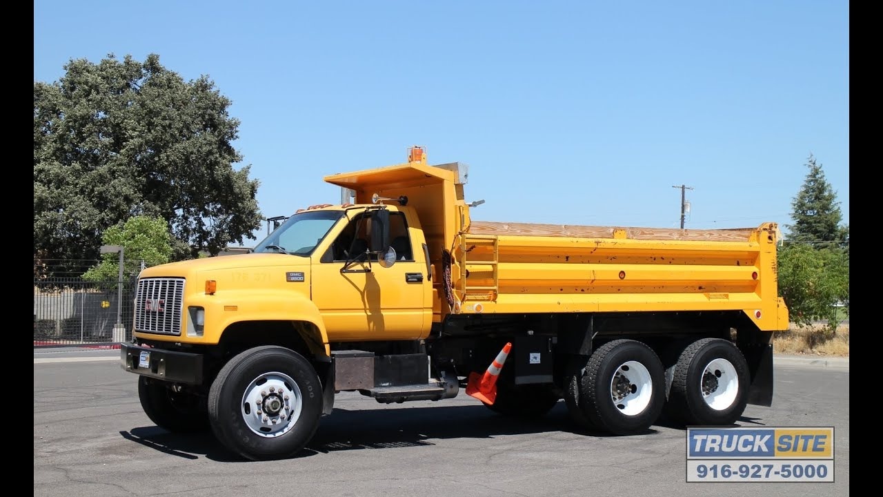 1999 GMC C8500 TopKick 10-13 Yard Dump Truck for Sale by ...