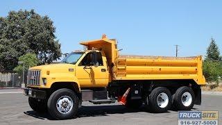 1999 GMC C8500 TopKick 10-13 Yard Dump Truck for Sale by Truck Site