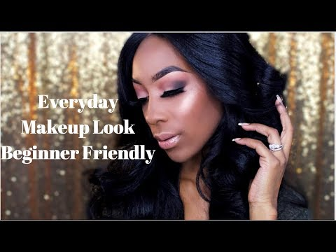 Super Natural Everyday Makeup Look, Beginner
