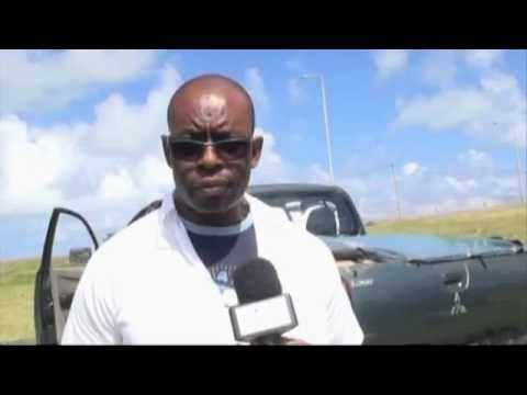Rodrigues abattage des animaux et désinfection des zones affectées VIDEO  Mauritius Broadcasting Cor