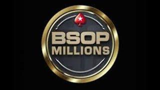 7ª Etapa BSOP MILLIONS 2017 - São Paulo - Main Event - Dia 4