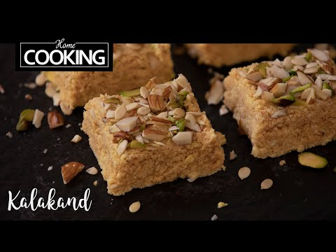 Kalakand | Kalakand Indian Sweet Recipe | Milk Sweets | Indian Sweets | Festival Sweets