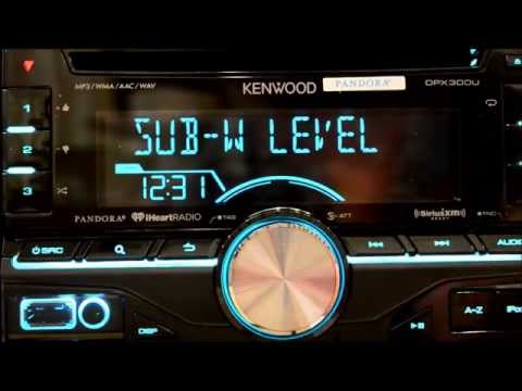 Detailed Kenwood DPX300u Review - YouTube on kenwood double din car stereo installed, kenwood gps single 1 5 din, kenwood in-dash car stereo,