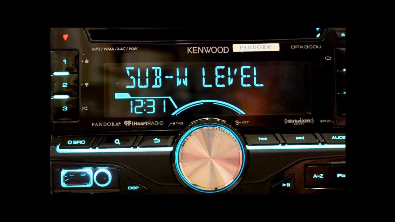 Detailed Kenwood Dpx300u Review