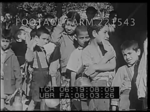 1950 Gaza Refugee Camp  221543-06 | Footage Farm