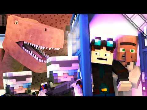 Minecraft | THE DOCTOR'S TIME MACHINE!! | Original Animation