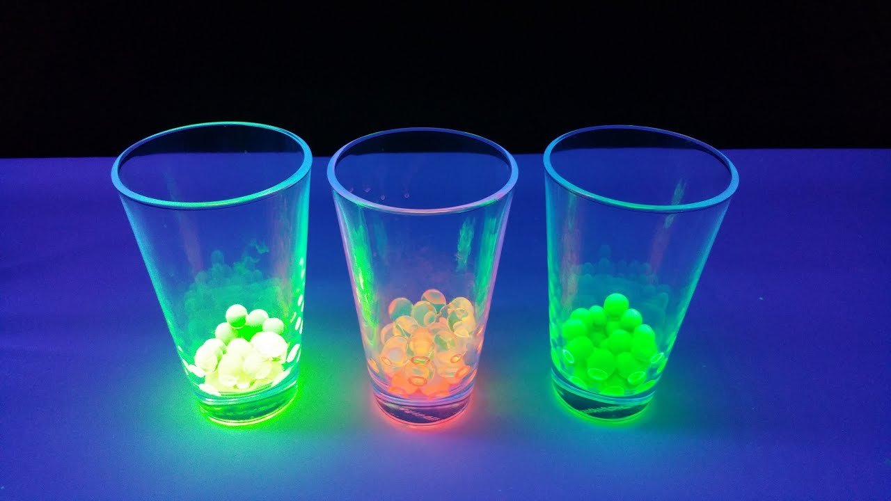 Water balz leuchtend f rben glow in the dark uv licht for Uv licht teichanlage