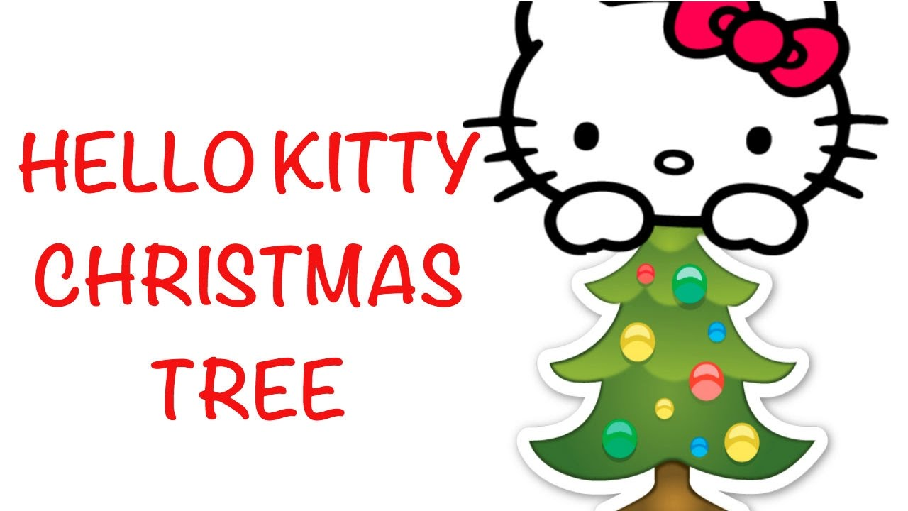 Hello Kitty Christmas.Vlogmas Day 15 A Hello Kitty Christmas Tree