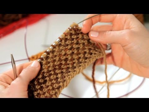 How to Do a Linen Stitch | Knitting