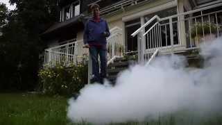 Nebelmaschine Eurolite N-10 im Outdoor-Test Werbevideo