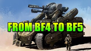 from bf4 to bf5 what needs to change